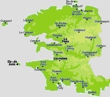 Carte Bretagne Pointe Du Raz.Pages Carte Pointe Du Raz